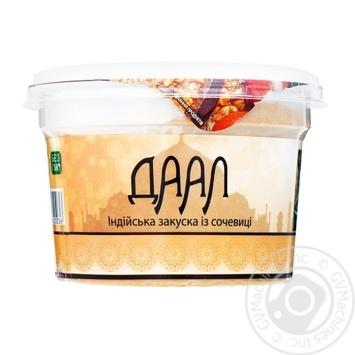 Закуска Yofi ДААЛ из чечевицы 250г - купить, цены на Фуршет - фото 1