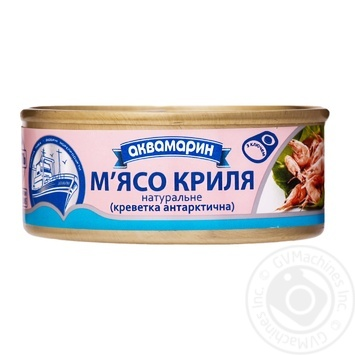 Akvamaryn canned meat krill 100g - buy, prices for Novus - image 1