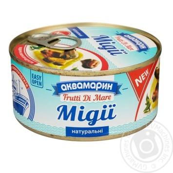 Мидии Аквамарин натуральные 185г - купить, цены на Novus - фото 1