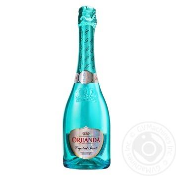 Шампанское Oreanda Crystal сухое Брют 10,5-12,5% 0,75л