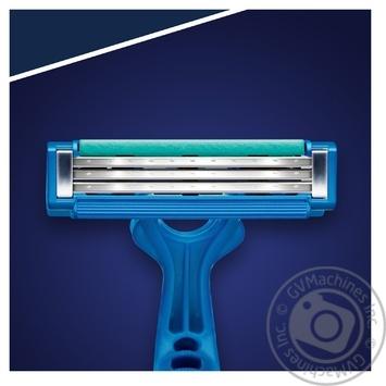 Бритвы Gillette Blue Simple3 одноразовые 8шт - купить, цены на МегаМаркет - фото 2