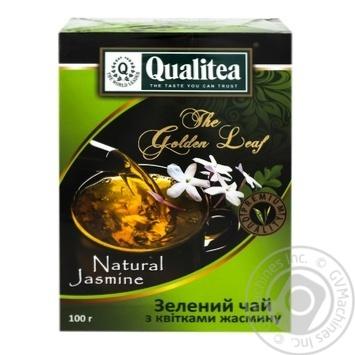 Чай Кволити с цветками жасмина зеленый 100г
