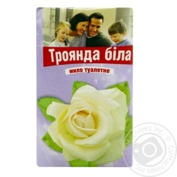 Furshet Toilet Soap Mark Rose white 70g - buy, prices for Furshet - image 1
