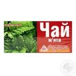 Трав'яний чай Фуршет М'ята в пакетиках 20х1.35г Україна - купити, ціни на Фуршет - фото 1