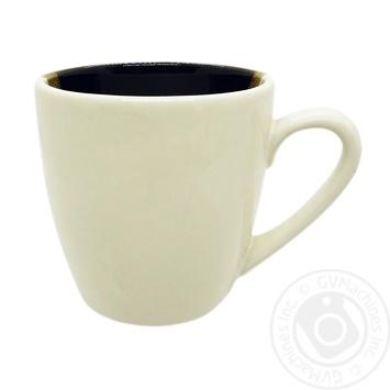 Чашка Европа шоколад матовая Marizel CAP683 400мл - купить, цены на Фуршет - фото 2