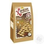 Печенье Полезная Кондитерская песочное с кокосом без сахара 300г