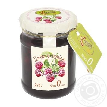 Steviyasan with Stevia Raspberry Jam 270g - buy, prices for CityMarket - photo 1