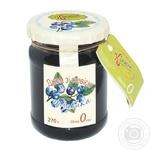 Korysna kondyterska Jams blueberry with stevia 270g - buy, prices for Tavria V - image 1