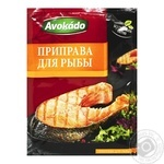 Spices Avokado for fish 25g packaged