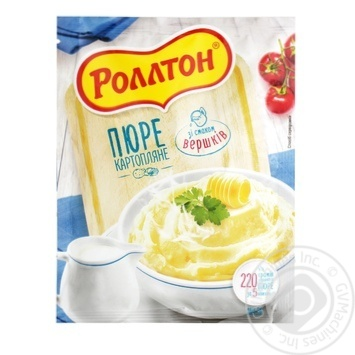 Пюре картофельное Роллтон со вкусом сливок 40г - купить, цены на Таврия В - фото 1