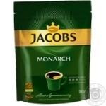 Кава Jacobs Monarch розчинна 90г - купити, ціни на Novus - фото 2