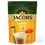 Напиток кофейный растворимый Jacobs 3в1 Latte 8штх13г