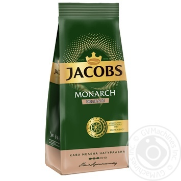 Jacobs Monarch Delicate ground coffee 225g - buy, prices for Furshet - image 1
