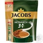 Напиток кофейный Jacobs Monarch 3в1 растворимый в стиках 10*15г