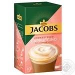 Напиток кофейный растворимый Jacobs Cappuccino без добавления сахара в стиках 10*14г