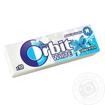 Резинка жевательная Orbit освежающая мята 14г