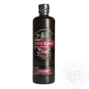 Riga Black Cherry Balsam 30% 0.5l - buy, prices for CityMarket - photo 1
