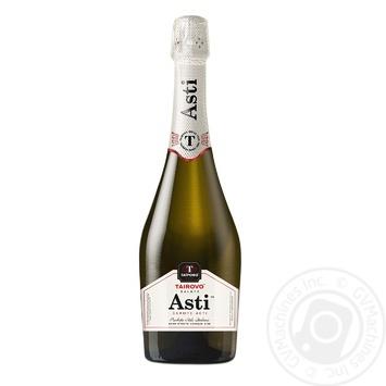 Вино ігристе Таїрово Салюте Асті біле солодке 0,75л - купити, ціни на ЕКО Маркет - фото 1
