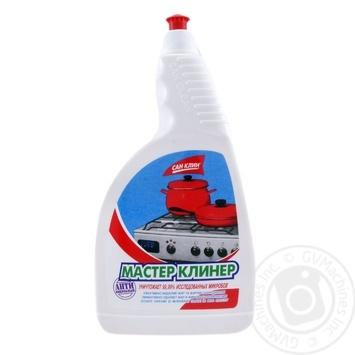 Средство моющее Мастер Клинер для удаления жира 750г - купить, цены на Фуршет - фото 1