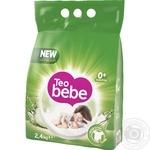 Стиральный порошок автомат Teo Bebe Tender Aloe 2,4кг