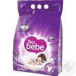 Стиральный порошок автомат Teo Bebe Sweet Lavender 2,4кг