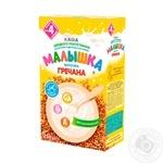 Malysh for 4+ month babies milk buckwheat dry porridge 250g