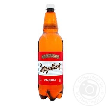 Пиво Уманьпиво Жигулівське живе світле 4,2% 1л - купити, ціни на Novus - фото 1