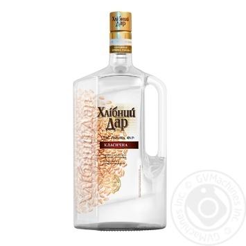 Hlibnyi Dar Classic Vodka  40% 1,75l - buy, prices for Novus - image 1