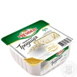 Сир President Творожна традиція 9% 350г - купити, ціни на МегаМаркет - фото 1
