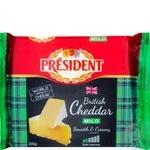 Сыр твердый President Чеддер Молодой 48% 200г