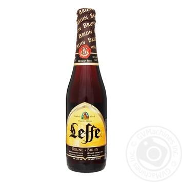 Leffe Brune Dark Beer 6,5% 0,33l - buy, prices for MegaMarket - image 1