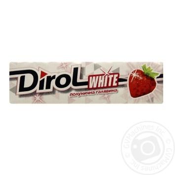Жевательная резинка Dirol клубничная поляна 14г - купить, цены на Восторг - фото 1