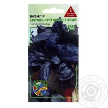 Agrocontract Seeds Basil Crimean violet 0,5g - buy, prices for MegaMarket - image 1
