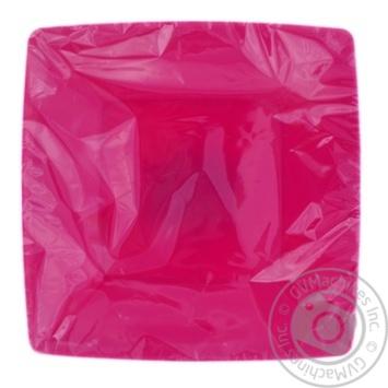 Набор тарелок квадратных Меломан 2шт - купить, цены на Фуршет - фото 1