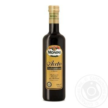 Уксус Monini бальзамический из Модены 6% 250мл - купить, цены на Novus - фото 1