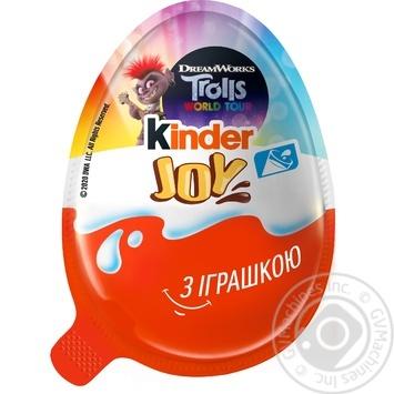 Яйце Kinder Joy Для дівчат з двошаровою пастою на основі молока і какао і вафельними кульками вкритими какао з молочним кремом усередині та з іграшкою 20г - купити, ціни на МегаМаркет - фото 3