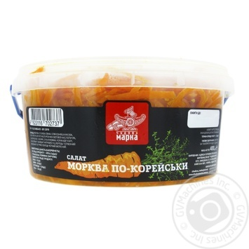 Салат Чудова марка Морковь по-корейски 400г - купить, цены на Фуршет - фото 2
