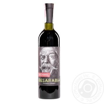 Вино Besarabia Moscato червоне напівсолодке 9-13% 0,75л