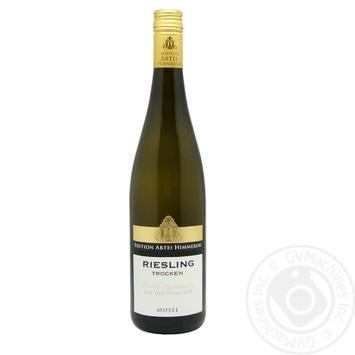 Wine Riesling Trocken 2016 Him dry white 0.75l - buy, prices for Furshet - image 1