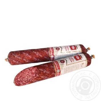 Myasna Gildiya President Raw-Smoked Sausage 340g - buy, prices for Furshet - image 1