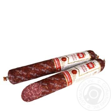 Myasna Hildiya Starokyivska Highest Grade Raw Smoked Sausage 340g