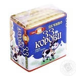 Печиво Бісквіт-Шоколад 33 Корови смак сметанки 55г