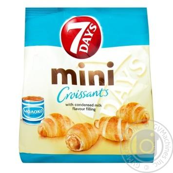 7Days Boiled Evaporated Milk Mini Croissant - buy, prices for Novus - image 1
