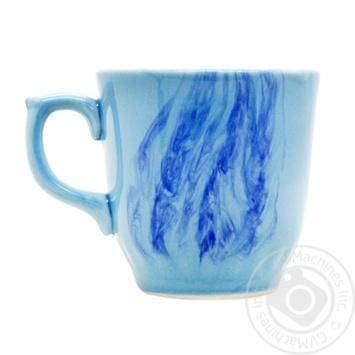 Чашка Тернополь Marizel радуга голубая САP 650 - купить, цены на Фуршет - фото 1