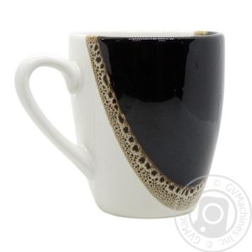 Чашка Европа шоколад матовая Marizel CAP683 400мл - купить, цены на Фуршет - фото 1