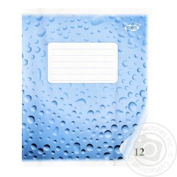 Brisk Notebook line 12 sheets - buy, prices for Furshet - image 1