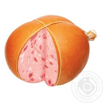 Колбаса Самобранка Столичная вареная высший сорт весовая - купить, цены на Фуршет - фото 1