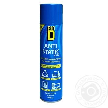 Big D Antistatic spray 300ml - buy, prices for Furshet - image 1