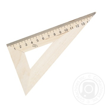 Mitsar Triangle Wooden 16 cm 126331 - buy, prices for Furshet - image 1
