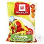 Св морож Еврогруп Перець солод. різ. 400 г